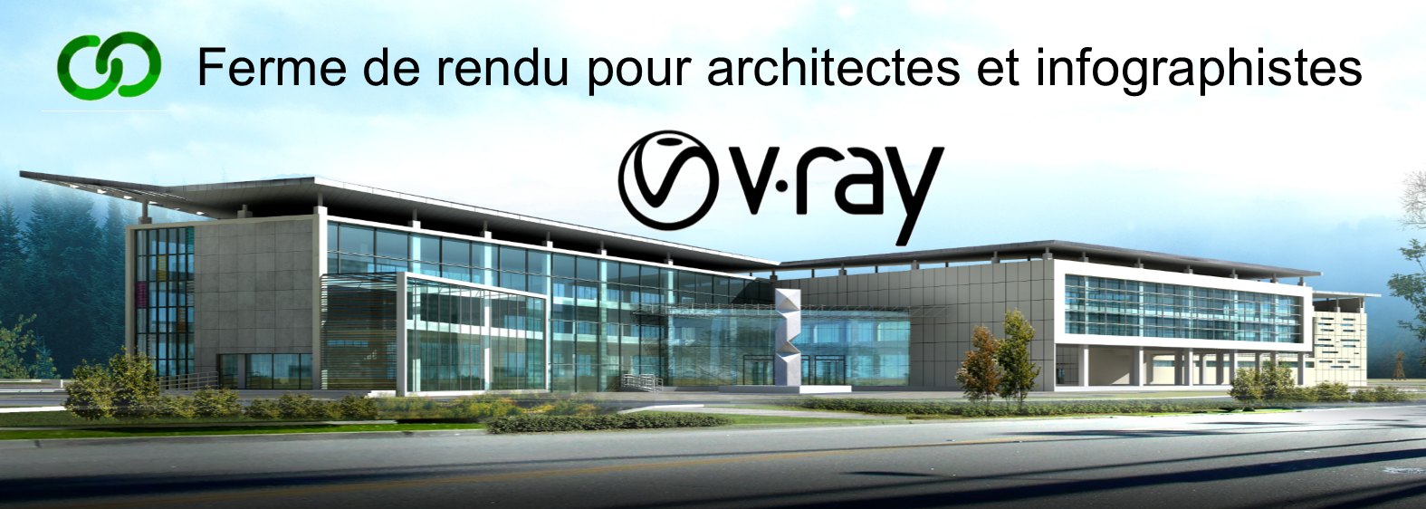 Render farm V-Ray