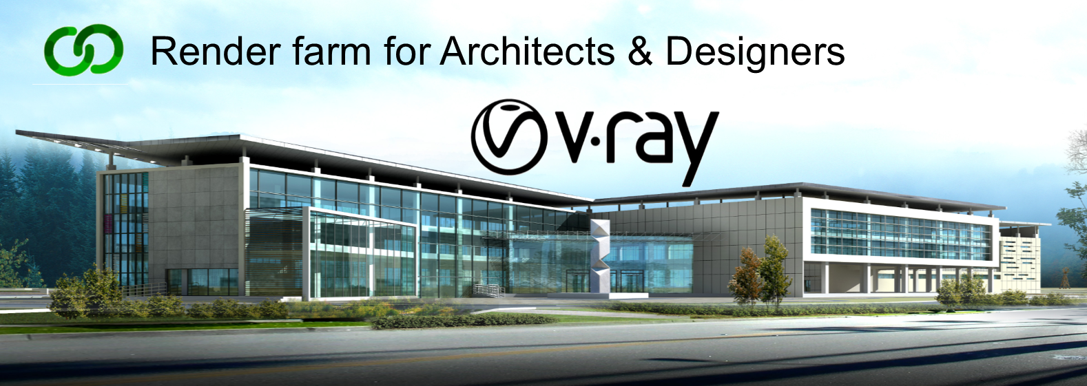 V-RAY render farm